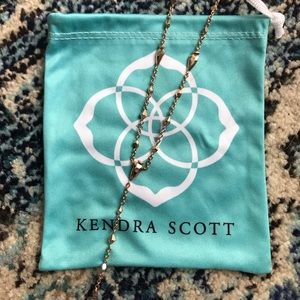 Kendra Scott | Grant Necklace | Rose Gold